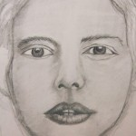 Emiliana (graphite drawing)