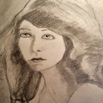 Lillian (graphite drawing)