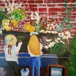 Kinfolk Flowers (painting)