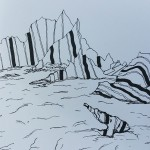 Granite Rocks (ink drawing)
