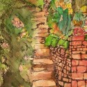 English Garden (watercolor)