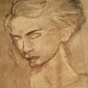 Anita (charcoal drawing)