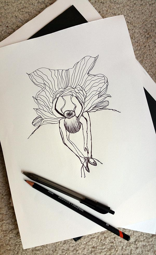 flowerina-with-pen-and-pencil
