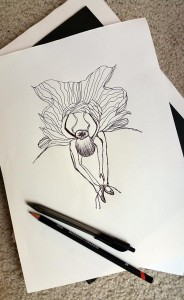 Flowerina - first sketch