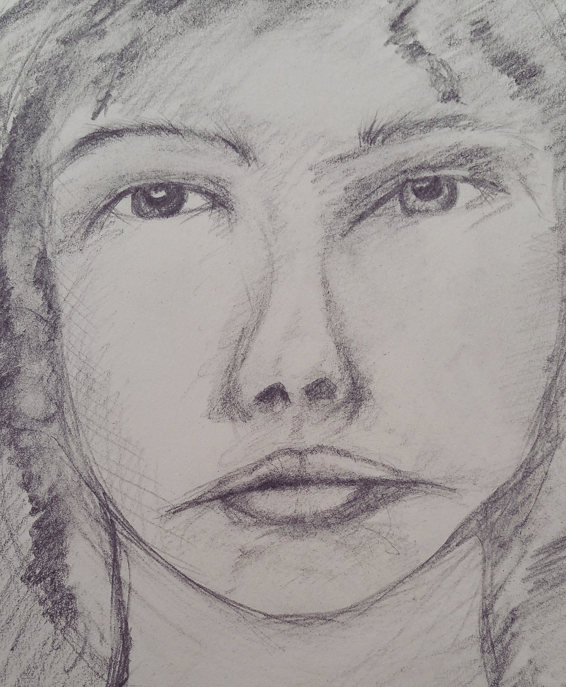 4 Days of Portrait Sketching