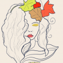 "Meet ""Autumn"" (digital drawing)"