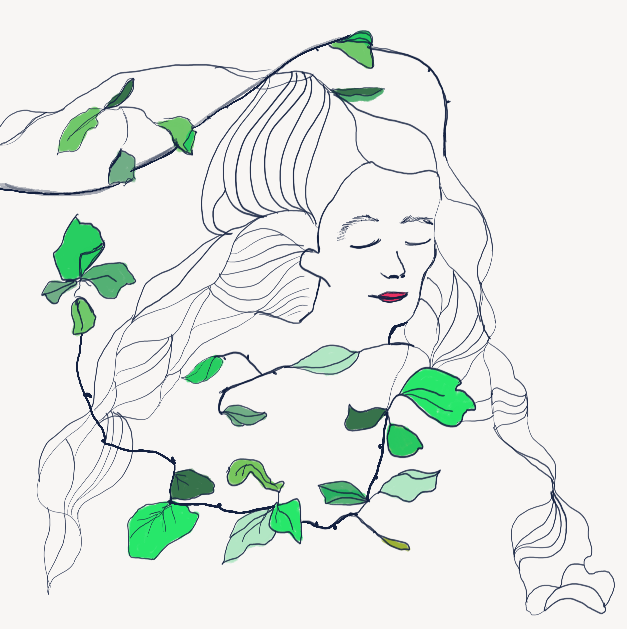 Flora (digital drawing)